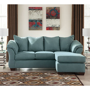 Awe Inspiring Signature Design By Ashley Audrey Sofa Sectional Inzonedesignstudio Interior Chair Design Inzonedesignstudiocom