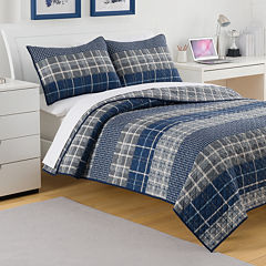 IZOD® Riviera Plaid Quilt & Accessories