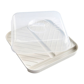 Nordicware Medium Slanted Bacon Tray with Lid