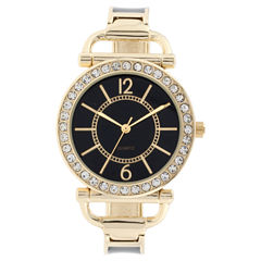 Mixit Womens Gold Tone Bracelet Watch-Jcp3008bg