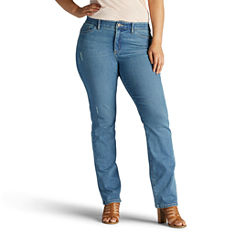 Lee Straight Fit Straight Leg Jeans-Plus