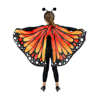 Monarch Butterfly Cape Child Girls Costume Girls Costume