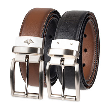 Dockers® Stretch Reversible Casual Men's Belt with Metal Keeper