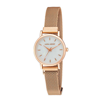 Laura Ashley Womens Rose Goldtone Expansion Watch-La2017rg