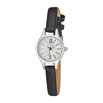 Laura Ashley Womens Black Strap Watch-La2025ss
