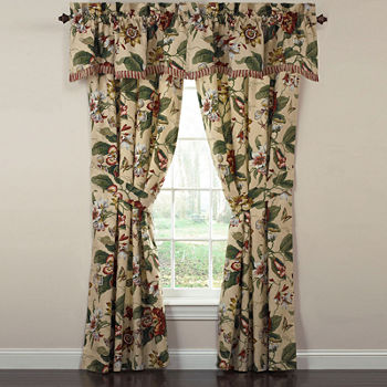 Waverly Curtain Panels Bedroom Curtains & Decor for Bed & Bath ...