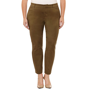 b88beeb72fa Plus Size Green Pants for Women - JCPenney
