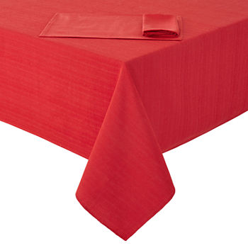 everyday red table linens for the home jcpenney