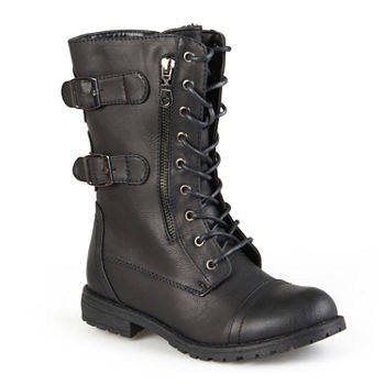 b41807e4e82 Journee Collection Black Women s Boots for Shoes - JCPenney