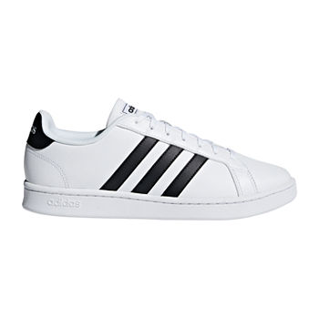 adidas Grand Court Mens Lace-up Sneakers