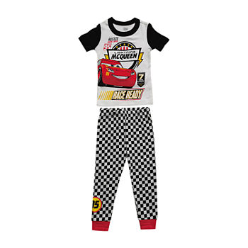 Disney Collection Little & Big Boys 2-pc. Cars Pant Pajama Set