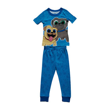 Disney Collection Little & Big Boys 2-pc. Puppy Dog Pals Pant Pajama Set