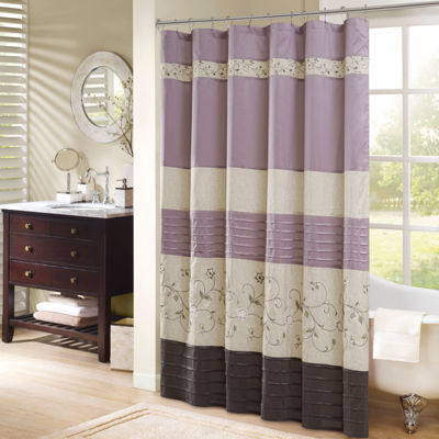 Floral Purple Bathroom Accessories For Bed U0026 Bath   JCPenney