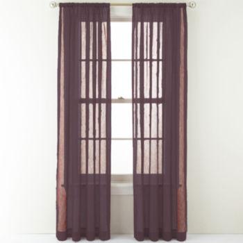 Royal Velvet Purple Curtains Drapes For Window Jcpenney