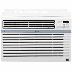 LG Energy Star 12000 BTU 115V Window-Mounted Air Conditioner with Wi-Fi Control