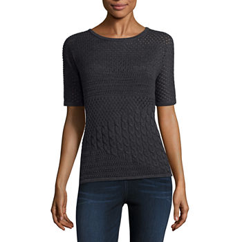 Short Sleeve Sweaters & Cardigans for Women - JCPenney