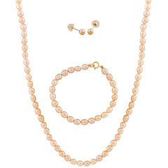 Girls 3-pc. 14K Gold Jewelry Set