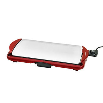 "Cooks 10"" x 19"" Electric Ceramic Griddle"