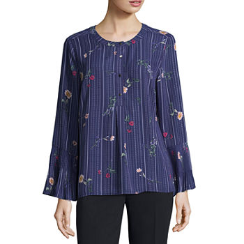 687fea0c9f6ff Misses Size Blue Tops for Women - JCPenney