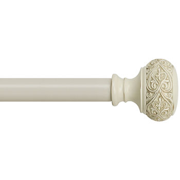 Bali® Scroll Knob Adjustable Curtain Rod