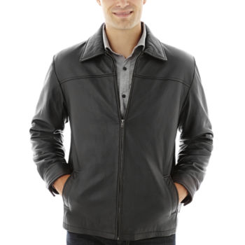 Mens Leather Jackets, Faux Leather Jackets for Men - JCPenney