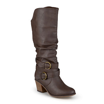 6d064cdda71a9 Journee Collection Late Womens Riding Boots - Wide Calf