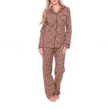 8b635c7dd0dd Pant Pajama Sets Brown Pajamas   Robes for Women - JCPenney