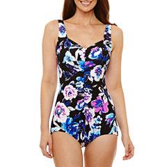 Azul Floral One Piece Swimsuit