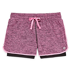 Xersion 2-in-1 Layered Performance Shorts - Girls' 7-16 and Plus