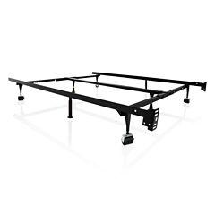 Malouf Structures Universal Adjustable Metal Bed Frame