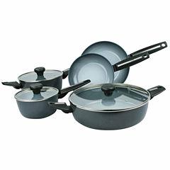 Azul Gres 8-pc. Cookware Set