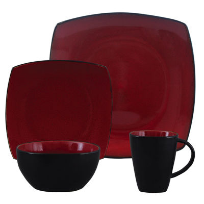 average rating. Color red. Brandgibson  sc 1 st  JCPenney & Gibson Red Dinnerware For The Home - JCPenney