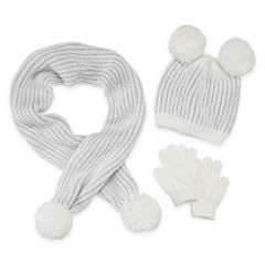 Toby 3-pc. Pattern Cold Weather Set-Preschool Girls