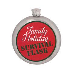 Wembley Holiday Survival 10 oz. Flask