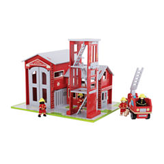 Bigjigs Toys - Fire Station