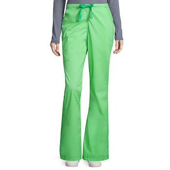 WonderWink® WonderFLEX 5308 Womens Grace Flare Leg Pant - Tall & Tall Plus