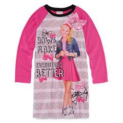 Nickelodeon Long Sleeve Nightgown-Big Kid Girls