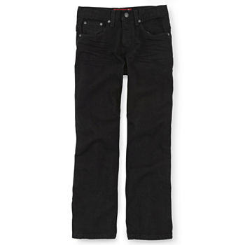 d0441549ea Arizona Relaxed Fit Jeans Boys 4-20, Slim & Husky