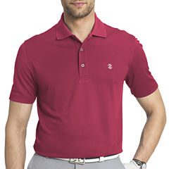 IZOD Short-Sleeve Golf Grid Polo