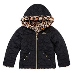 Pacific Trail Girls Midweight Quilted Jacket-Preschool