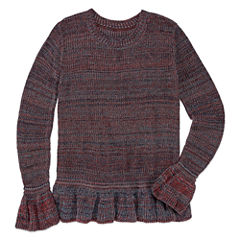 Say What Long Sleeve Sweater - Girls' 7-16