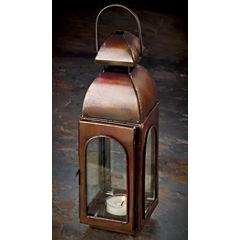 St. Croix Trading Antique Bronze Finish Candle Lantern