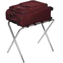Household Essentials® Chrome Luggage Rack