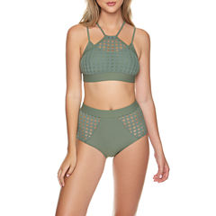 Arizona Bralette Swimsuit Top or High Waist Bottom-Juniors
