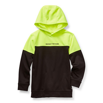 Xersion Performance Fleece Little & Big Boys Moisture Wicking Hoodie
