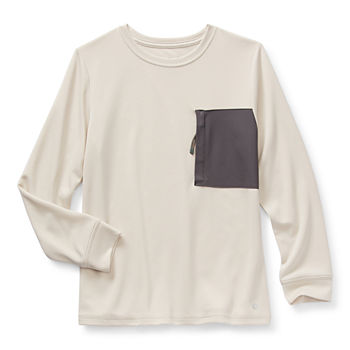 Xersion Little & Big Boys Crew Neck Long Sleeve T-Shirt