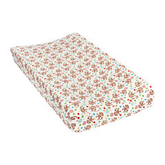 Trend Lab® Monkey-Print Flannel Changing Pad Cover
