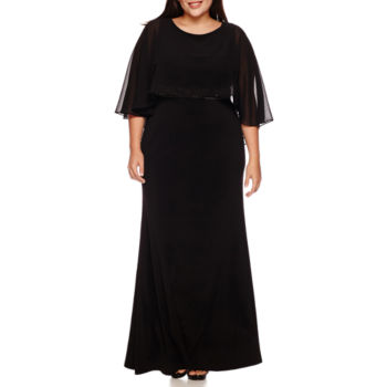plus size evening gowns dresses for women - jcpenney