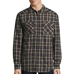 Smith's Workwear Sherpa Lined Shirt Jacket