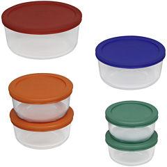 Pyrex® Simply 12-pc. Store Bowl Set